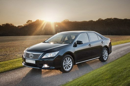 Rent Toyota Camry with a driver in Kiev