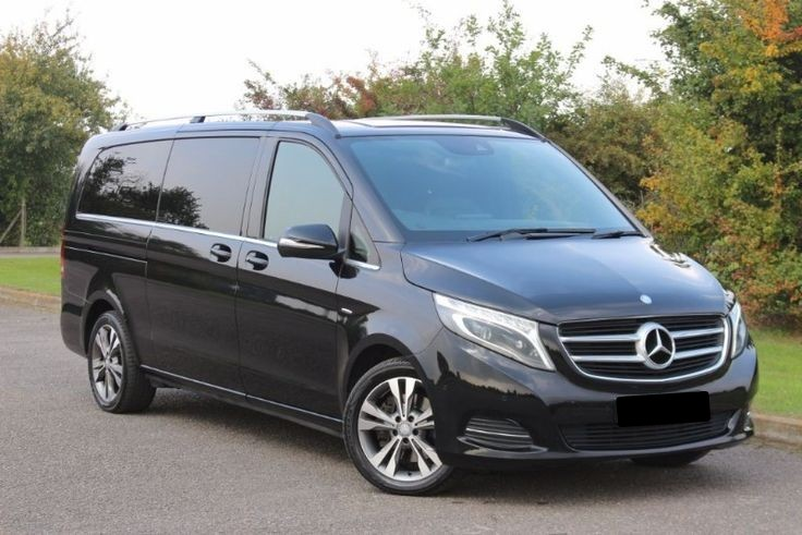 Оренда мікроавтобус Mercedes-Benz V-Class з водієм в Києві