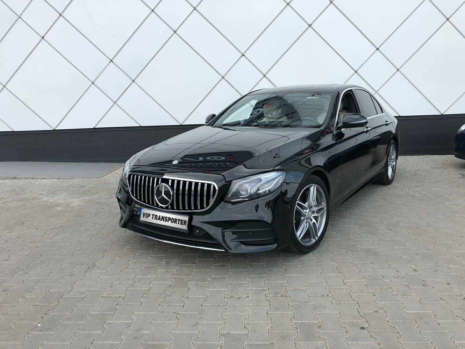 Rent Mercedes-Benz E class W213 with a driver in Kiev